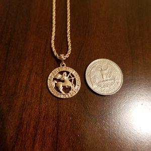 Other - Sagittarius Zodiac Sign Necklace